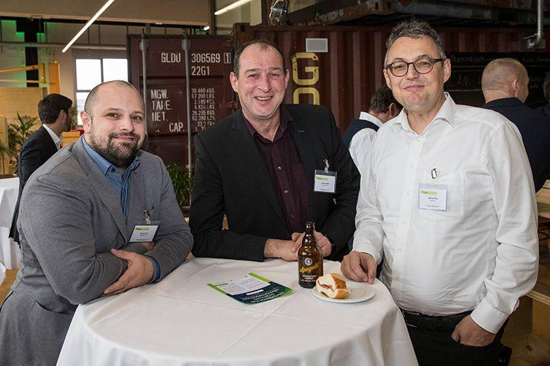 Daniel Link (Kyberna), Günter Matt (Kyberna), Viktor Frick (aviita)