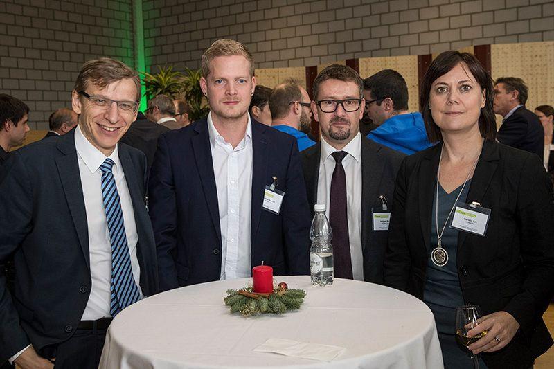 Gernot Schuh (VP Bank), Dominic Beusch (VP Bank), Andreas Benz (VP Bank), Cornelia Zeh (VP Bank)